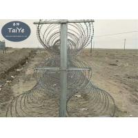 China High Zinc Coating Mobile Security Barrier Anti Rust Blade Wire Fencing wholesale