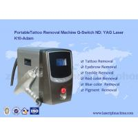 China Portable Q - Switch Laser Tattoo Removal Machine Powerful 500-1000V on sale