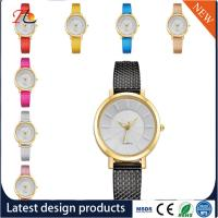 China Wholesale Plastic watch band  Alloy Round Case Ladies Quartz Watches fashion watch Multicolor watches wholesale
