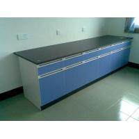 China Wooden MDF Laboratory Workbench Furniture 750 * 850 Mm Easy To Clean wholesale
