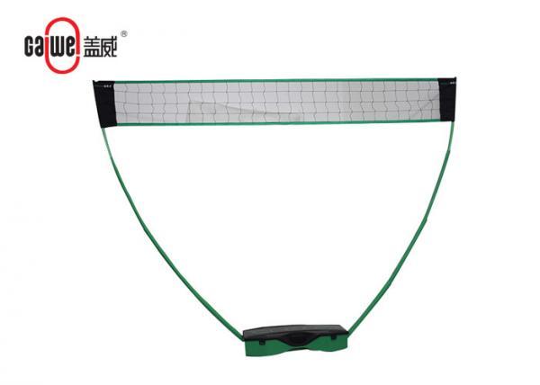 Quality Adults Sports Game 3 In 1 Badminton Set Oxford Fabric Adjustable With Metal Poles for sale