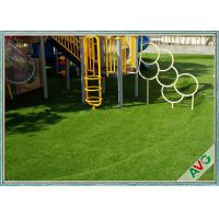 China High Density Natural Looking Playground Artificial Grass Safe For Children wholesale