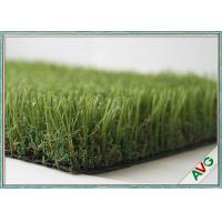 China Stand Straight Playground Synthetic Turf , Landscaping Playground Fake Grass wholesale