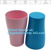 China Compostable cup,PLA Biodegradable Disposable cup,6 7 8 9 10 12 16 20 oz disposable plastic pp ps pet PLA cup with dome wholesale