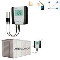 Buy cheap Cold Storage Zigbee Temperature And Humidity Data Logger High Accuracy S400W from wholesalers