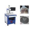 China Máquina de aço inoxidável da marcação do laser da fibra das etiquetas 100000 horas de tempo do laser wholesale