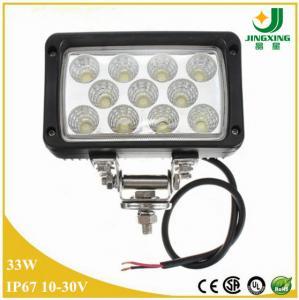 China Automotive lighting system 6 33W auto led work light high intensity work light on sale
