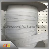 China White Garments Accessories #5 Nylon Coil Separating Zipper Extra Long For Mattress Covers wholesale