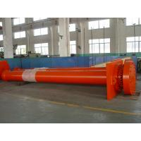 China Construction Large Bore Hydraulic Cylinders With The Displacement Sensor wholesale