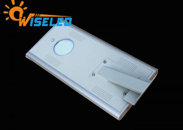 Quality 15W Motion Sensor Solar LED Street Light , Solar Powered LED Parking Lot Lights for sale