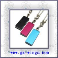 China WS806-Metal necklace USB Flash Disk wholesale