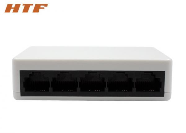 Quality Os ethernet eletrônicos brancos da rede do Desktop comutam 5 o porto 10/100Mbps for sale
