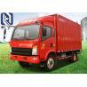 China Box Type Unloading Light Duty Truck 8 Ton With EURO II Emission Standard wholesale