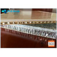 Buy cheap Oversized 1200*1200mm Marble Type Honeycomb Stone Panels With Customized from wholesalers