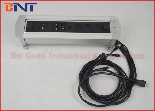 Quality Débouchés de prise tournants électriques de table de puissance de conférence standard des USA 110V 16A for sale