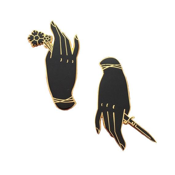 Quality きれいな孔雀の折りえりピンの金めっきは、堅い型のエナメル バッジをピンで止めます for sale