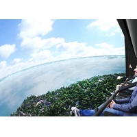 Buy cheap 360 Degree Vision Flying Theater Experience With 72 Electric Motion Seats from wholesalers