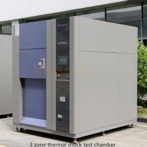China Chambre d'essai de choc thermique de refroidissement par l'eau/chambres essai concernant l'environnement wholesale