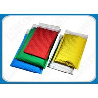 China Express Aluminum Foil Metallic Bubble Mailers / Recyclable PET Bags For Compact Disks wholesale