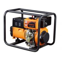 China Rated Power 5.5KW Diesel Welder Generator With Forced Lubrication System wholesale