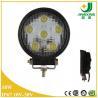 China Car led light round shape 10-30V spot beam 18w led work lamp IP67 wholesale