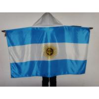 Durable Country Sport Body Flag / Flag Body Cape With Custom Logo 150*90 Cm for sale