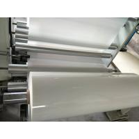 China 6023D MILKY WHITE PET POLYESTER FILM can available printing on sale