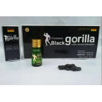China germany black gorilla sex pills male sexual enhancement product wholesale