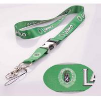 """China Custom ployester buckle lanyards with 1"""" width for your events wholesale"""