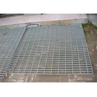China Hot Dip Galvanized Steel Grating 300 - 1000mm Width 300 - 6000mm Length wholesale
