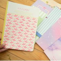 China High quality paper student's stitching CMYK full colorful cover with lamination exercise wholesale