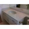 China Bathroom Granite Countertop With Sink Single Custom 25x19 Vanity Top wholesale