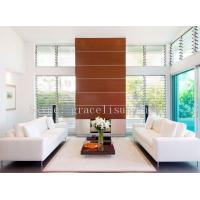 China clear or obscure exterior / indoor louver glass for window wholesale