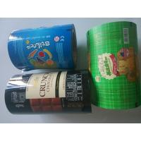 China Vegetable / Snack Food Packaging Plastic Film Rolls Personalised Colored on sale