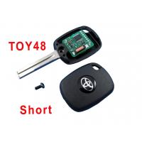 China Automobile Toyota 48 Car Key Shell Electronic 4c Copy Chip Key wholesale
