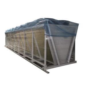 China Modular Aluminum Fin Air Condenser Cooler Adiabatic cooling cooler unit wholesale
