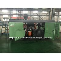 China Diesel Driven Screw Air Compressor Easy Serviceability For Water Well Drilling Rig on sale