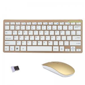 China Mini 2.4g Wireless Keyboard And Mouse Set , Computer Keyboard Mouse on sale