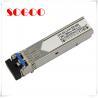 China 10G Bidi SFP Optical Module 10km T1270/R1330nm T1330/R1270nm 10G wholesale
