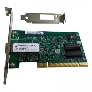 1G PCI Single Port SFP Slot Network Adapter 1000Mbps Fiber Optic Intel 82545EB Chipset Desktop PC Network Interface Card