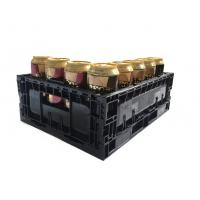 China Cheap price 12 bottles plastic beer wine bottle crate wholesale