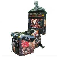 China  Coin Operated Online Shooting Video Games Terminator Salvation 4 Arcade Cabinet Games Machines on sale