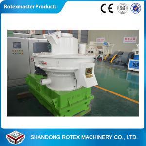 China YGKJ560 Model Ring Die Wood Pellet Machine , Low Noise Pellet Making Machine wholesale