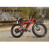 China 26 Inch Eelectric Pedal Assist Mountain Bike With Big Fat Wide Thick Tires wholesale