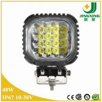 China Super brighter 12V 24V48w led working light for off road 4x4 jeep, truck on sale