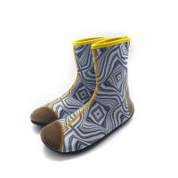 China 2mm Eco - Friendly Neoprene Water Boots Protectove Toe Design Antiskid Sole wholesale