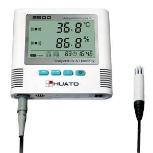 Buy cheap LED Screen Temperature Humidity Data Logger , Smart Temperature Humidity Recorder from wholesalers