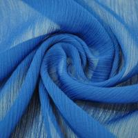 China Crinkle chiffon fabric for dress, made of 100% polyester wholesale
