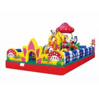 China playground kids mushroom small inflatable jumping castle wholesale