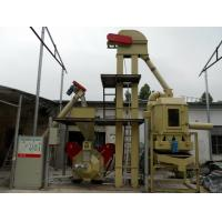 China HKJ 200 - 300 Kg/h rice husk Straw Wood Pellet Line With Bucket Elevator - Pellet HKJ32M wholesale